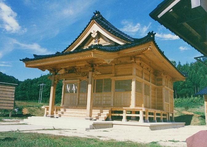 加茂社(昭和63年 七尾市 中島町)