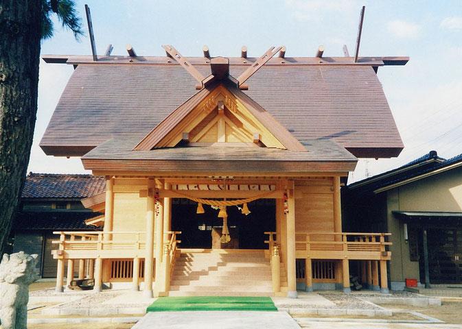 小浜神社(平成10年 志賀町 高浜)