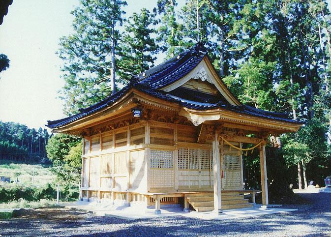 菅原神社(平成4年 穴水町)