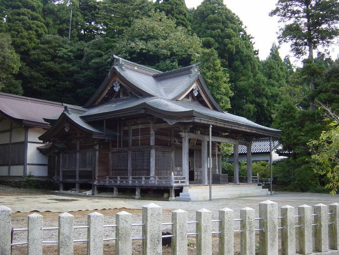 藤津比古神社(平成46年 七尾市 中島町)