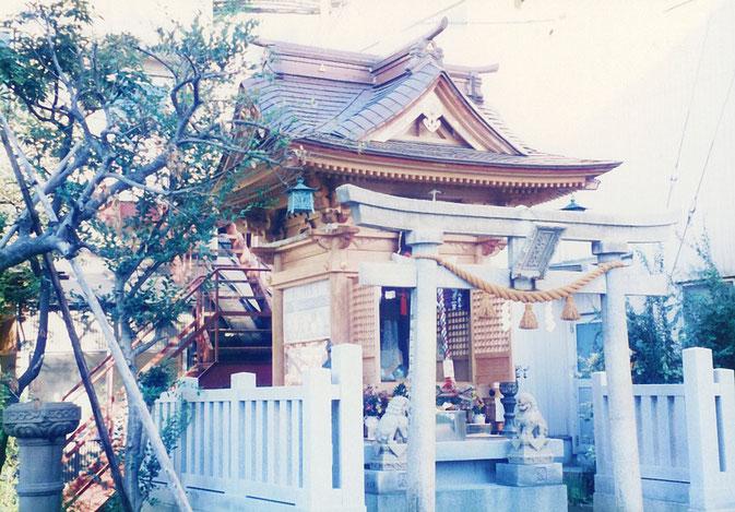愛宕神社(平成5年 七尾市 府中町)
