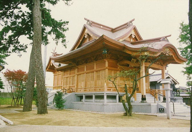 千里浜神社(平成1年 羽咋市 千里浜町)