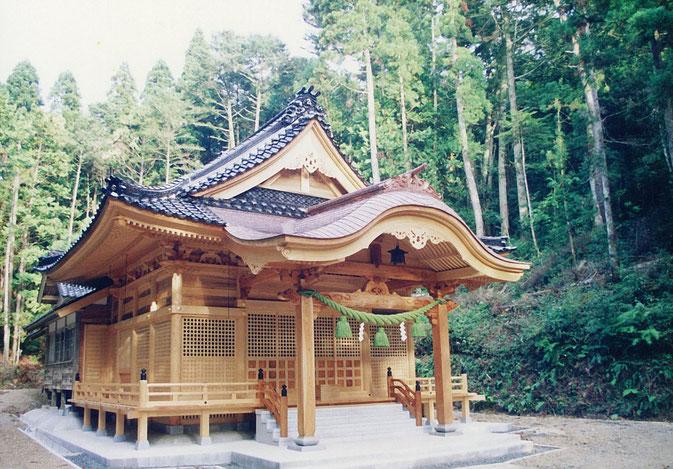 瀬戸比古神社(平成4年 志賀町)