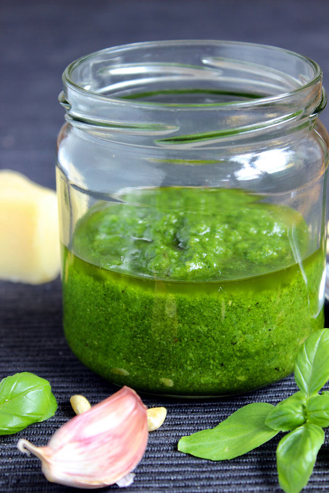 Pesto Rezept - Pesto Genovese selber machen