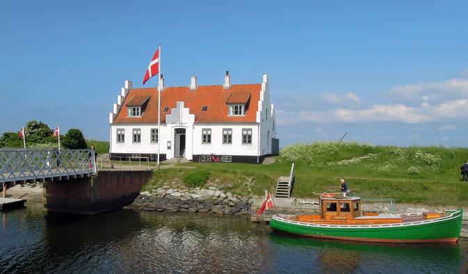 Das historische Limfjordsmuseum am Frederik VII. Kanal in Løgstør. Foto: C. Schumann, 2016