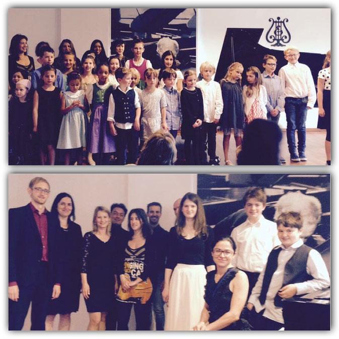 Klavierschule München, Schülerkonzert Juni 2016
