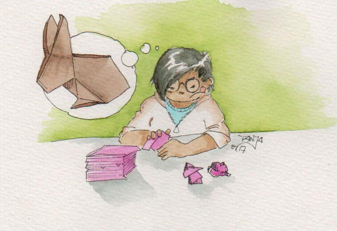 365-Tage-Doodle-Challenge - Stichwort: Origami