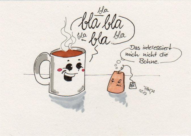 365-Tage-Doodle-Challenge - Stichwort: Tasse