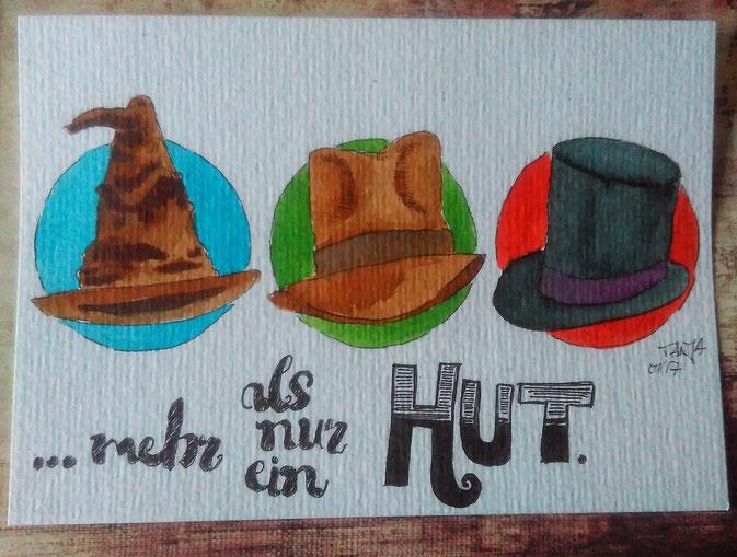 365-Tage-Doodle-Challenge: Hut