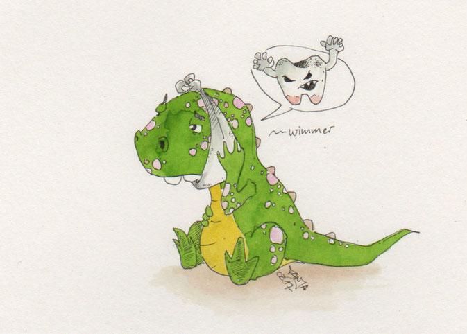 365-Tage-Doodle-Challenge - - Stichwort: Zahn