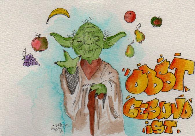 365-Tage-Doodle-Challenge - Stichwort: Obst