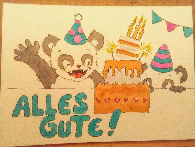 365-Tage-Doodle-Challenge - Geburtstagskuchen