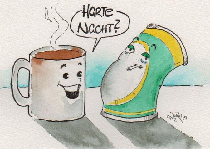 """365-Tage-Doodle-Challenge - Zeichnung mit dem Stichwort """"Bierdose"""""""