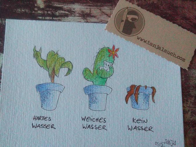 365-Tage-Doodle-Challenge - heute mit dem Thema: Zimmerpflanze