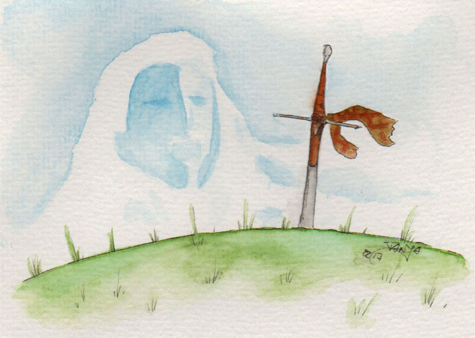 365-Tage-Doodle-Challenge - Stichwort: Schwert