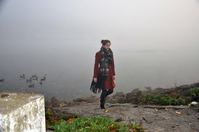 Herbstoutfit Modeblog Nähblog Fairy Tale Gone Realistic kreative Modebloggerin Deutschland