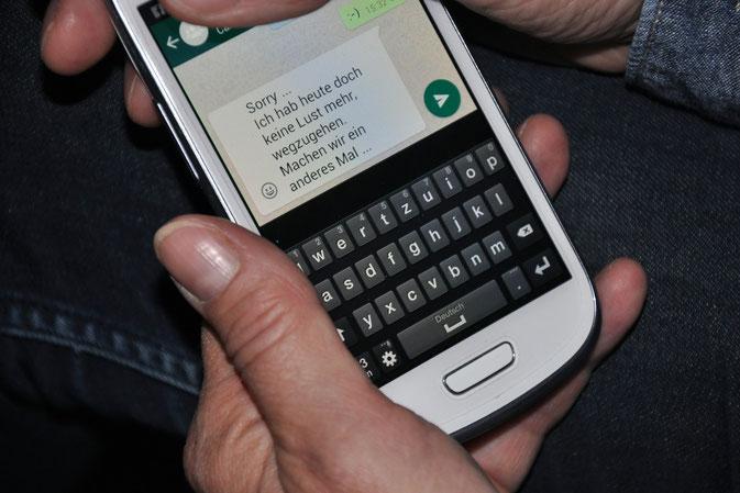 Unverbindlichkeit in Zeiten von WhatsApp