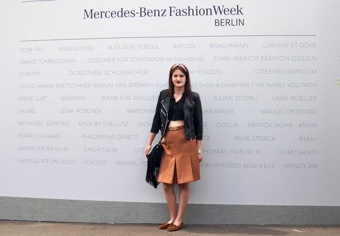 Mein Fashion Week Outfit am Dienstag