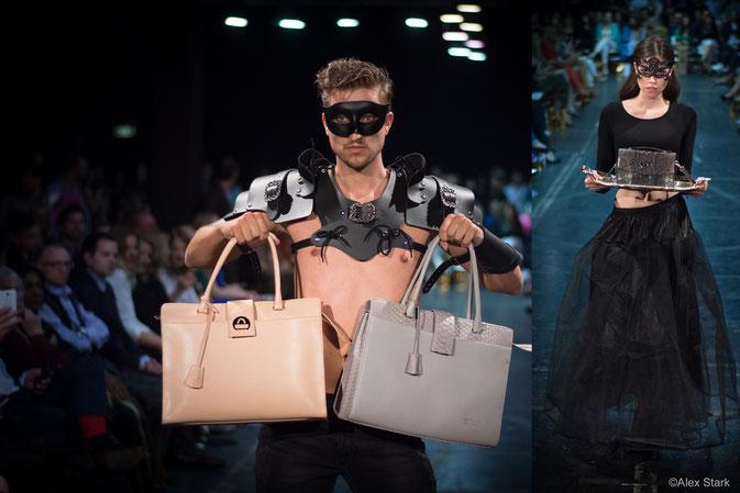 Einducksvoll präsentierte Taschen von Saribags