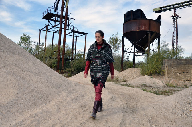 Herbstoutfit Modeblog Fairy Tale Gone Realistic Nähblog kreative Modebloggerin Deutschland