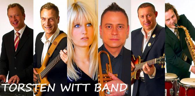 TORSTEN WITT BAND, Professionelle Partyband, Showband, Hochzeitsband - Trio bis Sextett