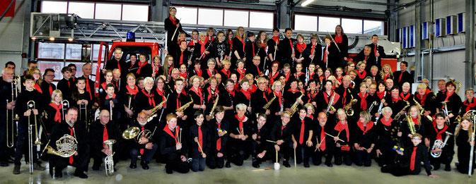 Gesamtorchester - Hilfeleistungszentrum, Norden - Juni 2016