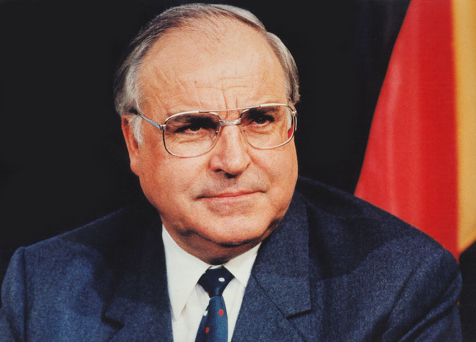 Bundeskanzler Dr. Helmut Kohl