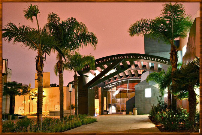 School of engineering an der UCI, Kalifornien, Amerika.
