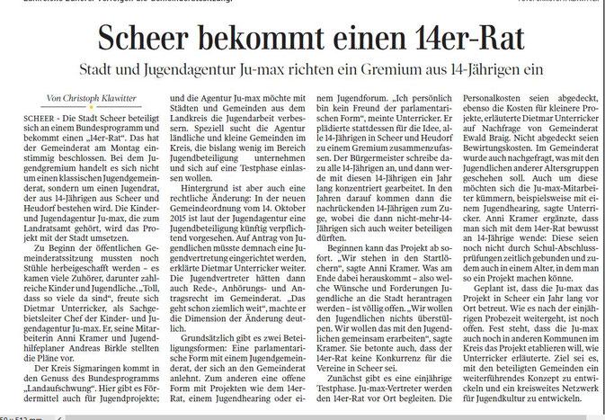 Schwäbische Zeitung -25.02.2016-