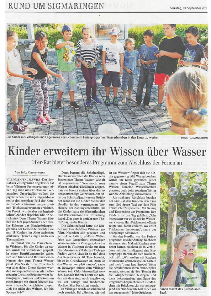 Schwäbische Zeitung -10-09-2016-