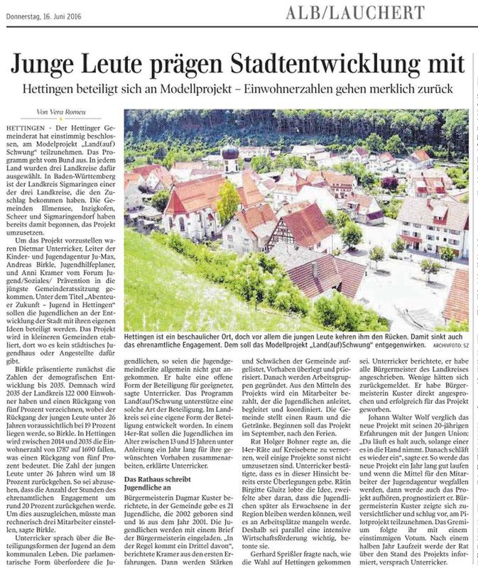 Schwäbische Zeitung -16-06-2016-