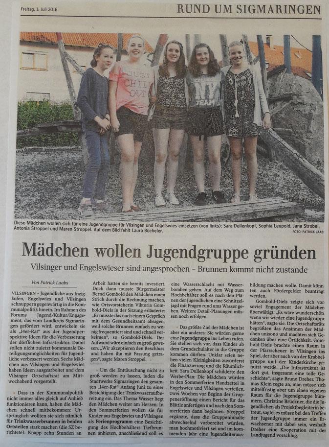 Schwäbische Zeitung -01-07-2016-