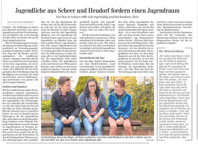 Schwäbische Zeitung -21.05.2016-
