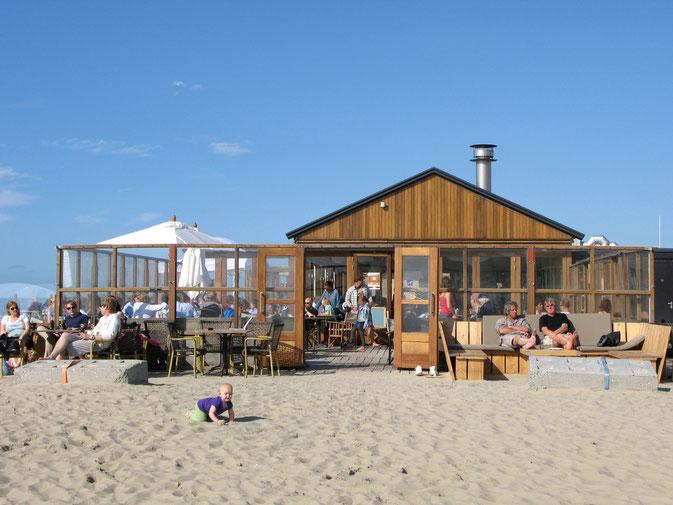 Strandbar De Kwartel am Hundestrand