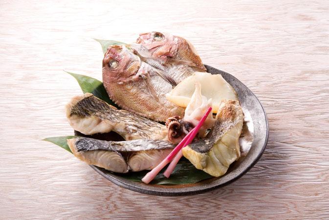 北木島の灰干し「魚々干」