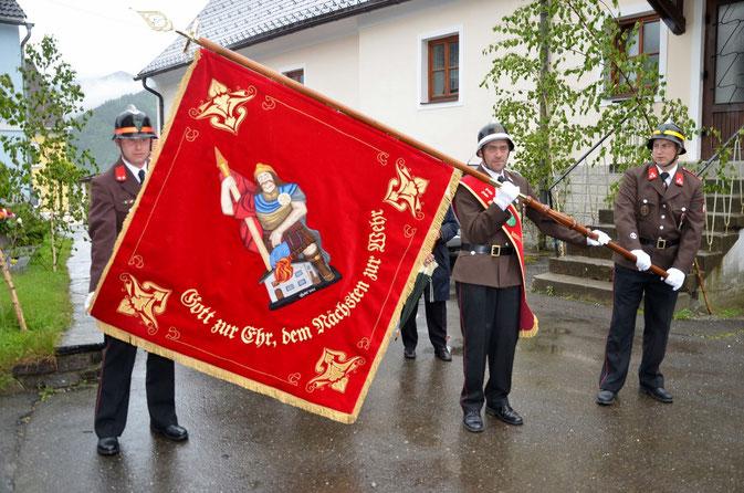 Fahne der FF Kraubath