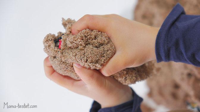magischer sand, kinetischer sand, kinetische sand, kinestetik sand