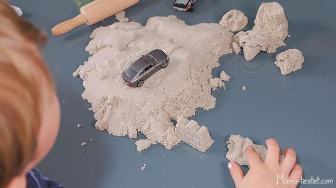 Kinetic Sand giftig, Polydimenthylsiloxan sand