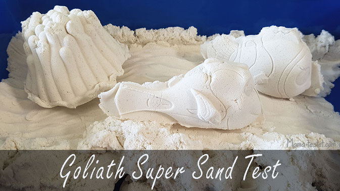 super sand test, goliath super sand test, sand für drinnen test