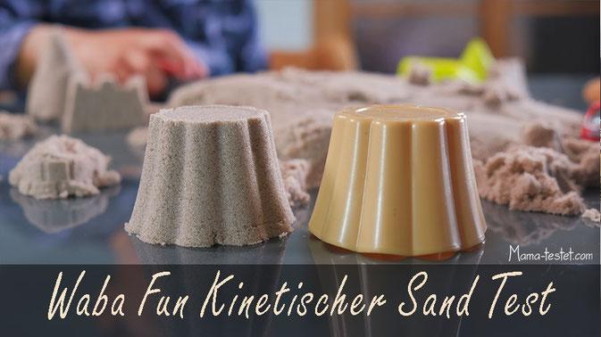 Kinetic Sand testsieger, waba kinetic sand