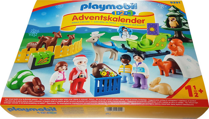 "PLAYMOBIL ADVENTSKALENDER TEST ""PLAYMOBIL 123 WALDWEIHNACHT"""