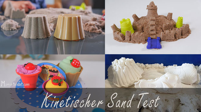 kinetischer sand Test, kinetic sand test