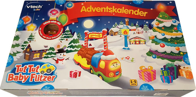 ADVENTSKALENDER KINDER TEST: TUT TUT BABY FLITZER ADVENTSKALENDER
