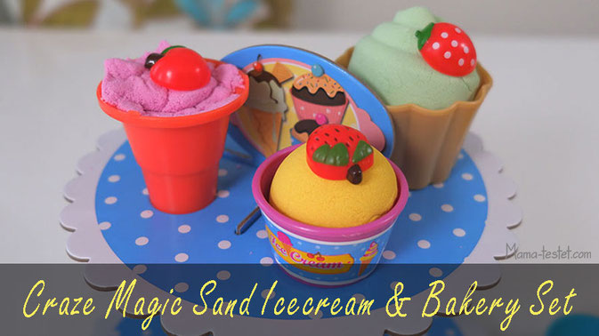 "magic sand test, craze magic sand test, Craze Magic Sand ""Icecream & Bakery"""