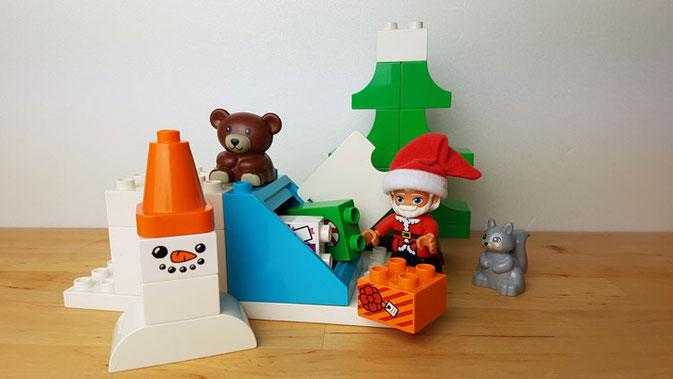 Duplo Winterspaß: Weihnachtsmann versteckt die Geschenke