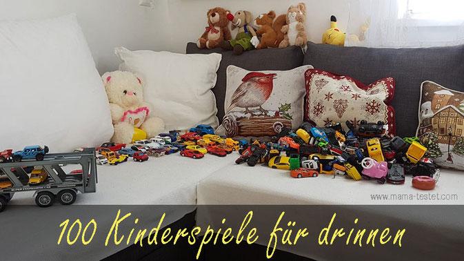 kinderspiele für drinnen, spiele gegen langeweile, spielidee für kinder