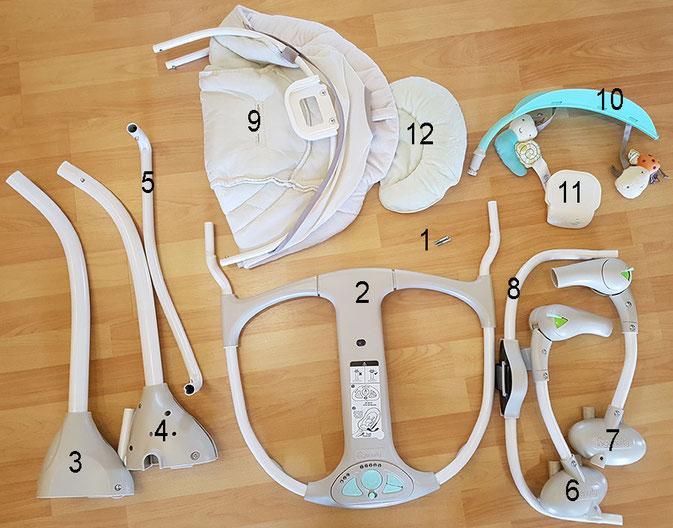 Ingenuity Seneca Babyschaukel, Ingenuity Babyschaukel Test