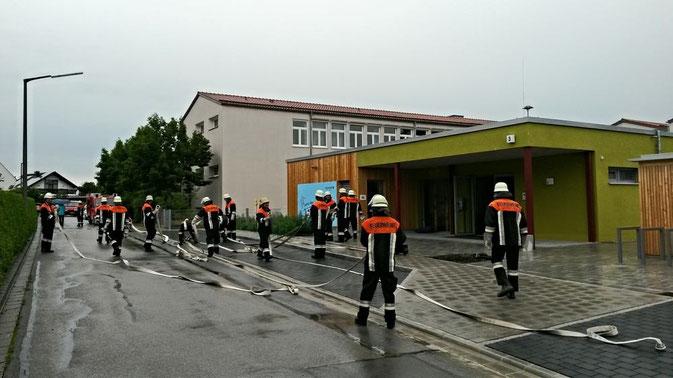Bild: Feuerwehr Pölling Neumarkt Kindertagesstätte Kinderkrippe