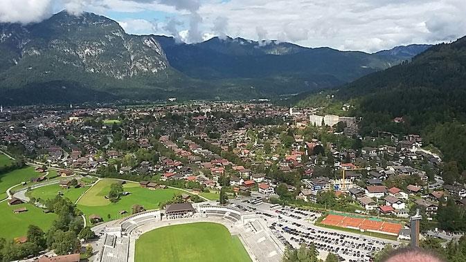 Vereinsausflug der Feuerwehr Pölling 2015 nach Garmisch-Partenkirchen