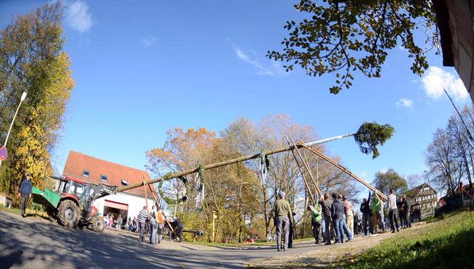 Bild: Kirchweih St. Martin Feuerwehr Pölling Neumarkt